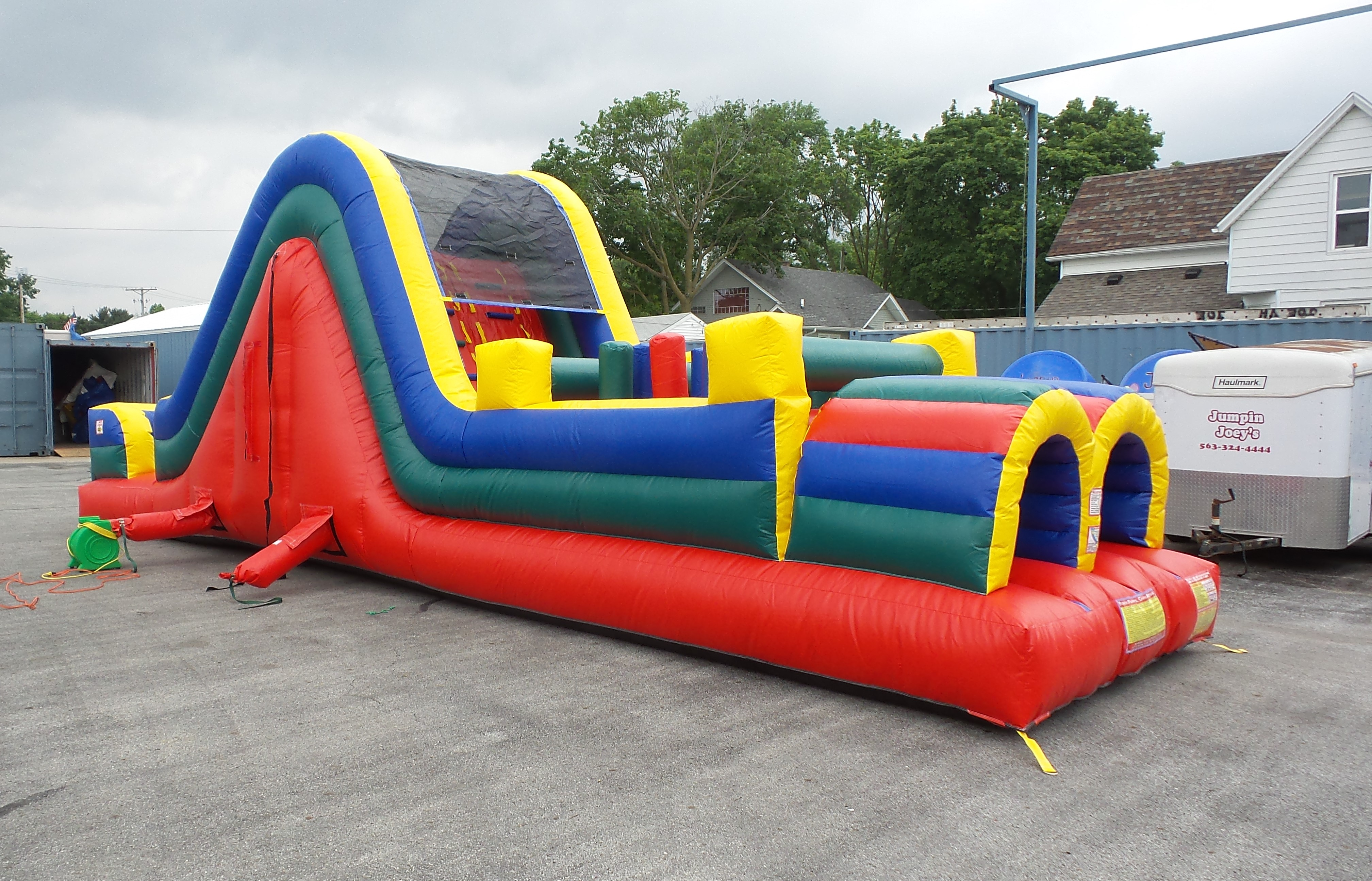 36ft Obstacle Course #196